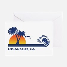 Los Angeles, CA Greeting Cards (Pk of 10)