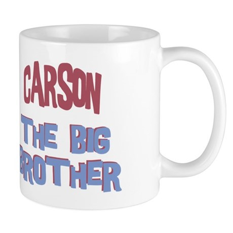 Carson - The Big Brother Mug