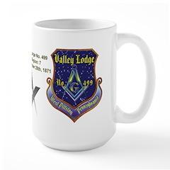 Masonic Custom Valley Lodge Large Mug