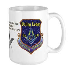 Masonic Custom Valley Lodge Mug