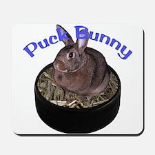 Puck Bunny Mousepad