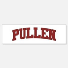 PULLEN Design Bumper Bumper Bumper Sticker
