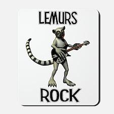Lemurs Rock Mousepad