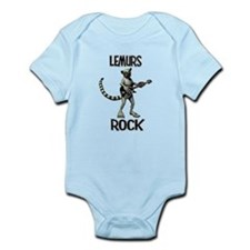 Lemurs Rock Infant Bodysuit
