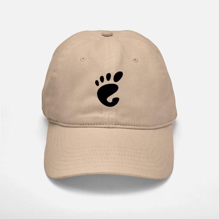 GNOME linux Baseball Baseball Cap