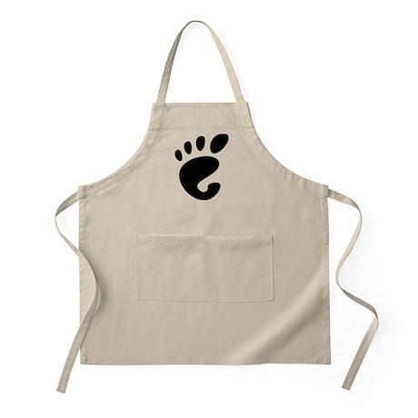 GNOME linux BBQ Apron