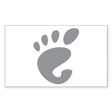 GNOME linux Rectangle Decal