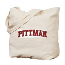 PITTMAN Design Tote Bag