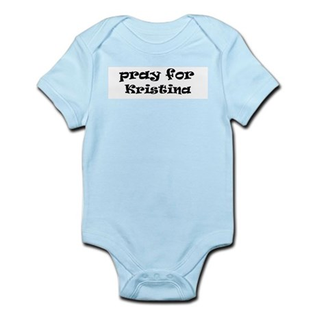 KRISTINA Infant Creeper