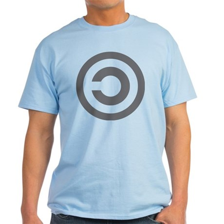 copyleft symbol Light T-Shirt