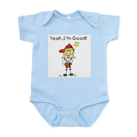 Baseball I'm Good Infant Bodysuit