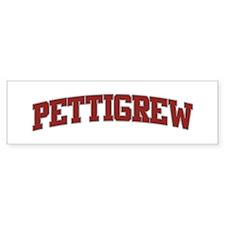 PETTIGREW Design Bumper Bumper Sticker
