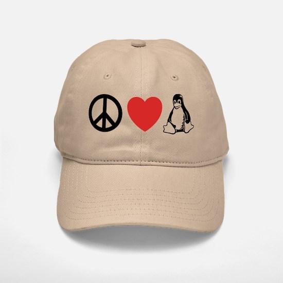 peace love linux Cap