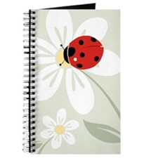Ladybug on Flower Journal