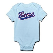 beers baseketball Infant Bodysuit