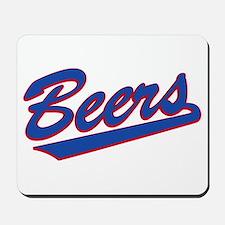 beers baseketball Mousepad