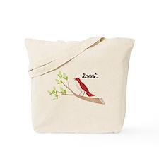 Funny Tweet Tote Bag