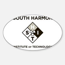 south harmon institute accepted Oval Decal