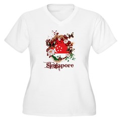 Butterfly Singapore T-Shirt