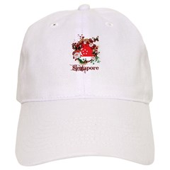 Butterfly Singapore Cap