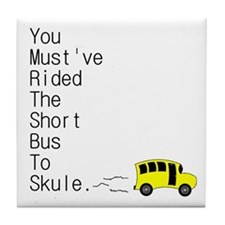 Short Bus Tile Coaster