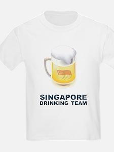 Singapore Drinking Team T-Shirt