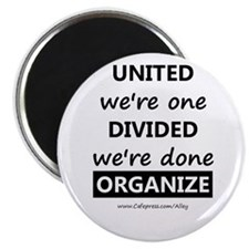 """United We're One (union) 2.25"""" Magnet (10 pack)"""