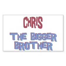 Chris - The Bigger Brother Rectangle Decal