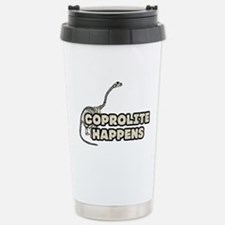 COPROLITE HAPPENS Stainless Steel Travel Mug