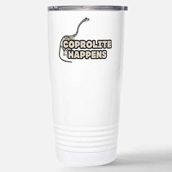 COPROLITE HAPPENS Stainless Steel Travel Mug