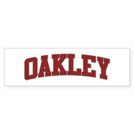OAKLEY Design Bumper Sticker