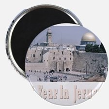 Next year In Jerusalem Black Magnets