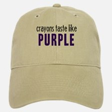 Crayons Taste Like Purple Baseball Baseball Cap