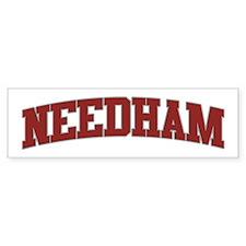 NEEDHAM Design Bumper Bumper Sticker