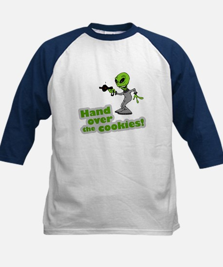 Hand Over the Cookies! Kids Baseball Jersey