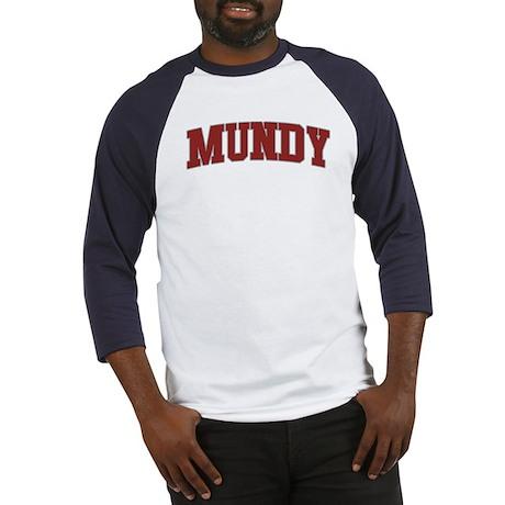 MUNDY Design Baseball Jersey