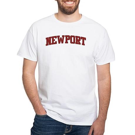 NEWPORT Design White T-Shirt