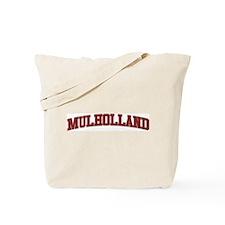 MULHOLLAND Design Tote Bag