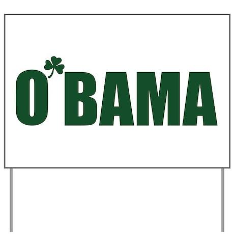 O'Bama Yard Sign
