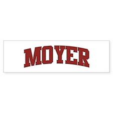 MOYER Design Bumper Bumper Sticker