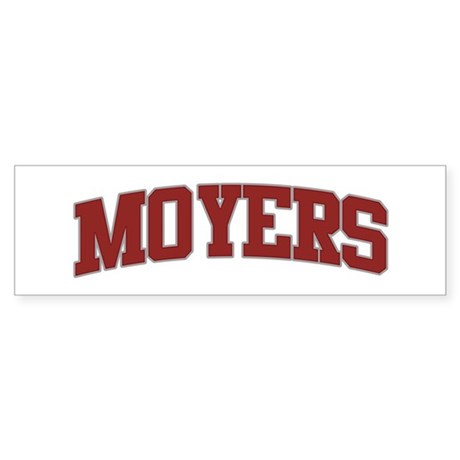 MOYERS Design Bumper Sticker