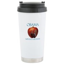 Obama Supports Dietitians Travel Mug
