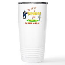 'Top Cop's Big Catch. ' Travel Mug