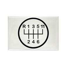 Eleventh Gear Rectangle Magnet