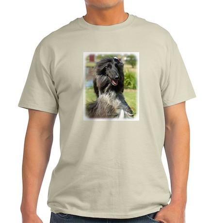 Afghan Hound 9P040D-65 Light T-Shirt