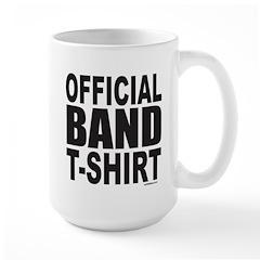 OFFICIAL BAND T-SHIRT Mug