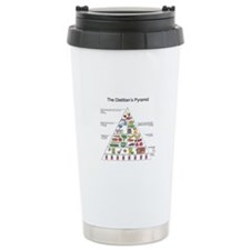 Dietitian's Pyramid Travel Mug