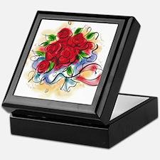 Bright Florals Keepsake Box