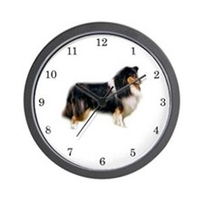 Collie Wall Clock (Tricolour)