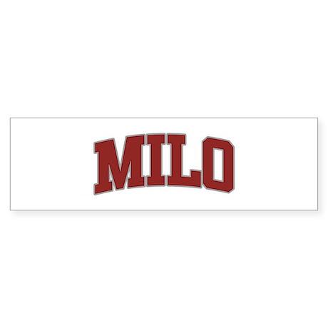 MILO Design Bumper Sticker